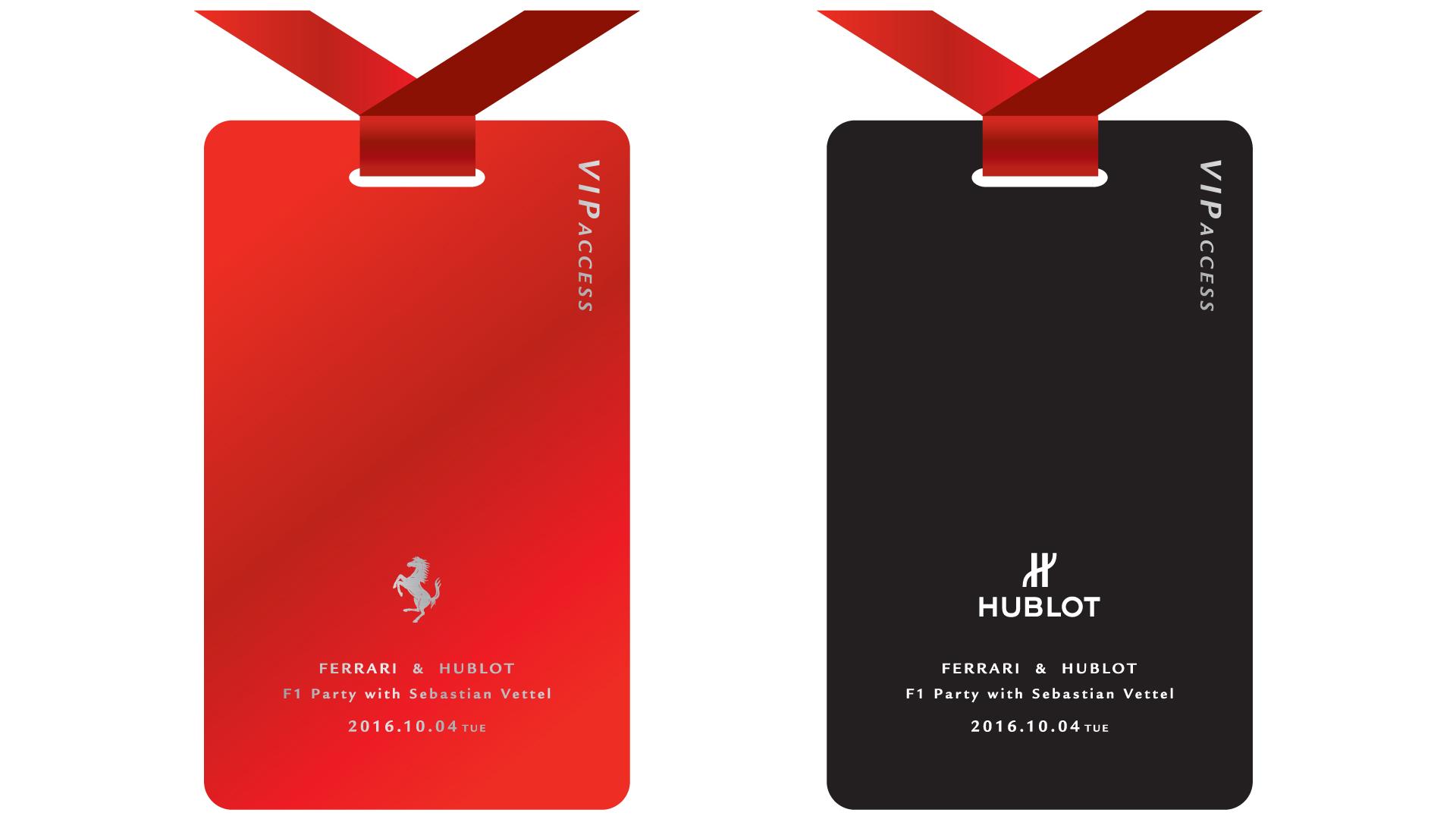 "Ferrari × Hublot ""F1 Party with Sebastian Vettel""-featured-image"